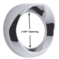 Chrome Speedometer Tachomater Gauge Cover
