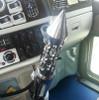 Daytona Spike Vertical 13/18 Chrome Gearshift Knob In Truck