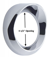 Kenworth Chrome Speedometer Tachometer Gauge Cover With Visor