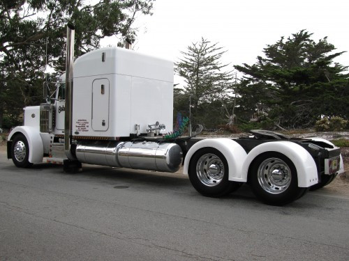 Big Truck Fiberglass Fenders : Classic double hump fiberglass rear fenders talladega