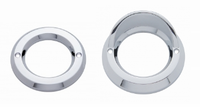 "2"" Round Chrome Bezel Grommet Cover"
