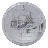 "5 3/4"" Round Sealed Beam Halogen Headlight With High & Low Beam"