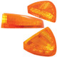Peterbilt Low Profile Turn Signal Light Amber Lens