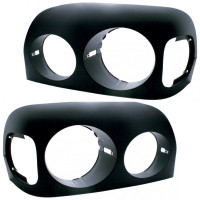 Freightliner Century Blacked Out Headlight Bezels Both Sides 2004 Earlier