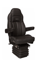 Legacy Gold Black Ultraleather Heat & Massage Seat