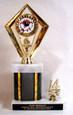 "Bowling Trophy - Hologram - Mylar - 10.5""  Free Engraving"