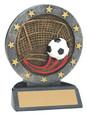 "All Star Resin Series Soccer - 4.5"" Free Engraving"