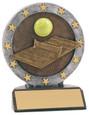 "All Star Resin Series Tennis - 4.5"" Free Engraving"