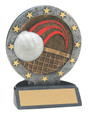 "All Star Resin Series Volleyball - 4.5"" Free Engraving"
