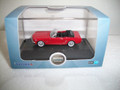 Oxford HO Scale 1965 Ford Mustang Convertible Poppy Red