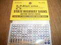 Blair Line N Scale Eastern States Highway Signs      #048