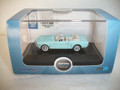 Oxford HO Scale 1965 Ford Mustang Convertible Tropical Turquoise