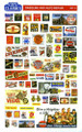 City Classics HO Scale Gas Station Signs #504