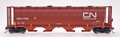 Intermountain HO Scale Cylindrical Covered Hopper CNLX 5014