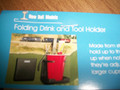 NEW! Folding Drink and Tool Holder Singles