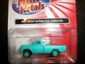 Classic Metal Works - HO Scale 1960 Ford Pick-Up Truck Caribbean Blue 30451