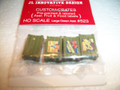 JL Innovative HO Scale Custom Crates Asst Fruit and Food Labels Large Green #523