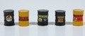 JL Innovative HO Scale Custom Oil Barrels Pre-painted and labeled Richfield #557