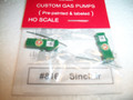JL Innovative HO Scale Custom Gas Pumps Pre-painted and labeled Sinclair #816