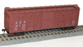 Accurail HO Scale 40' Outside Braced Wood Boxcar Louisville & Nashville L&N 47906