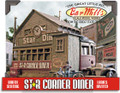 Bar Mills HO Scale Kit #602 Star Corner Diner