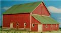 GC Laser HO-SCALE ELFERING FARM Series Barn #1 Red Kit #190822