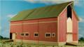 GC Laser HO-SCALE ELFERING FARM Series Barn #2 Red Kit #190824