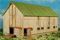 GC Laser HO-SCALE ELFERING FARM Series Barn #2 White Kit #190823