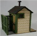 GC Laser HO-SCALE Privy 2 Stall Kit #19100
