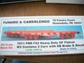 Funaro  HO Scale Kit  #7011  Pennsylvania PRR F22 Heavy Duty 30 ft flat car kit 2 pack