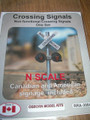 Osborn Model Kits N Scale Crossing Signals RRA-3004