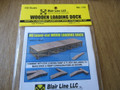 Blair Line HO Scale Laser Kit Wooden  Loading Dock  Kit #172