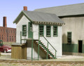 AMB LaserKits HO Scale Boston and Mainee Yard Office  Kit #709