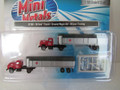 Classic Metal Works N Scale '54 Ford Tractor / Covered Wagon 2 pack McLean Trucking #51169