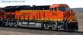 Intermountain Tier 4 ET44C4  BNSF New Image #3849 with   sound