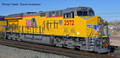 Intermountain Tier 4 C45AH  UP  #2640   with sound