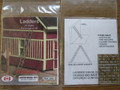 Osborn Model Kits N Scale Ladders 10 pack RRA-3058