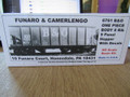 Funaro HO Scale Kit Baltimore & Ohio 8 Rib 9 Panel Hopper with decals #6761 One Piece body