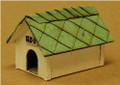 GC Laser O-SCALE Dog House 2 pack KIT # 3159