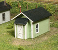 AMB LaserKits S Scale Kit No. 82 Miner's Cabin