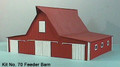 AMB LaserKits S  Scale Feeder Barn  Kit #70