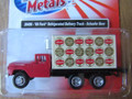Classic Metal Works - HO Scale '60 Ford Refrigerated Delivery Truck Schaefer Beer  #30496