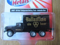 Classic Metal Works - HO Scale '60 Ford Refrigerated Delivery Truck Ballentine Beer  #30497