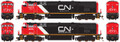 Rapido HO Scale Dash 8-40CM CNNA #2345  no sound