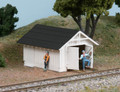 AMB LaserKits HO Scale L&N Tool Shed ( 2 pack) Kit #192