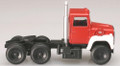 Atlas HO Scale Ford LNT 9000 Tractor Red / White