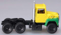 Atlas HO Scale Ford LNT 9000 Tractor  Yellow / Green