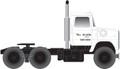 Atlas HO Scale Ford LNT 9000 Tractor  Rio Grande