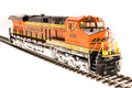 BLI HO ES44AC Paragon 3 with sound and smoke! BNSF 6438