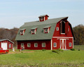 AMB LaserKits HO Scale Country Barn Kit #119